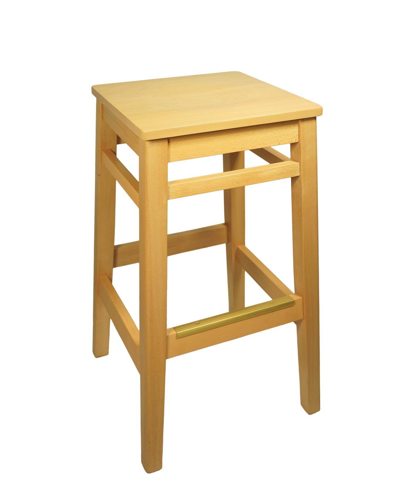 Superb Backless Wood Frame Square Seat Stool Squirreltailoven Fun Painted Chair Ideas Images Squirreltailovenorg