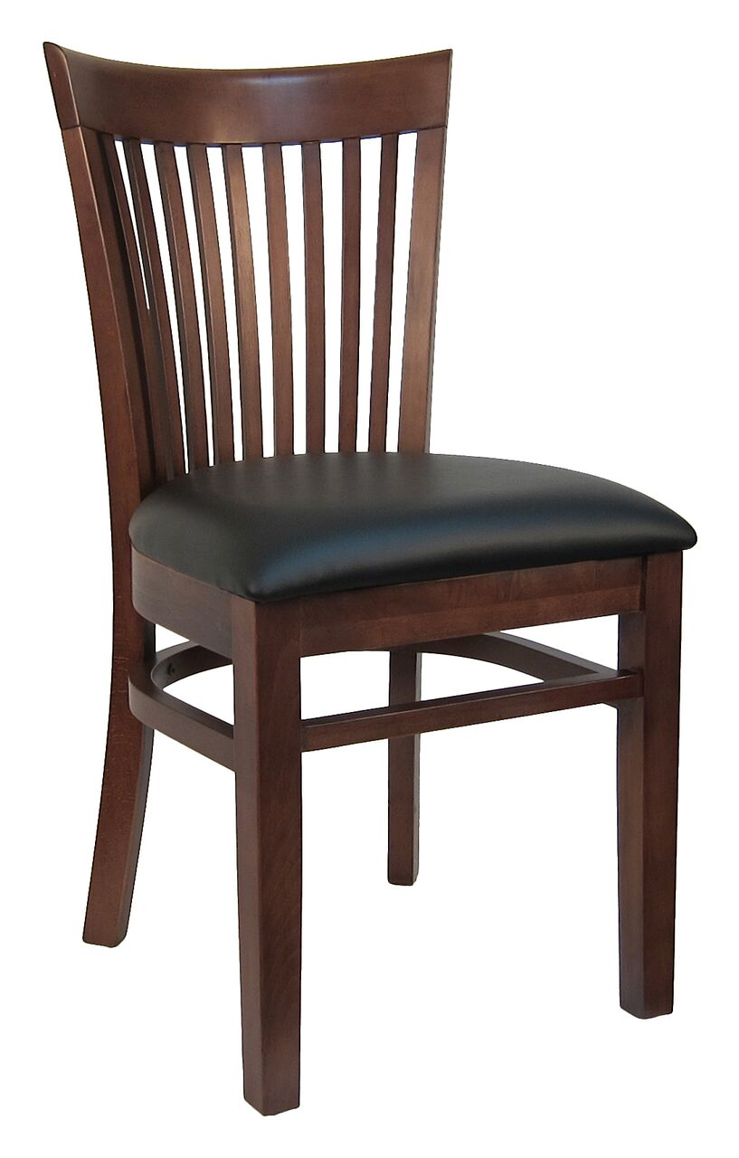 Slatted Back Chairs ~ Columbia slatted back wood chair h c commercial