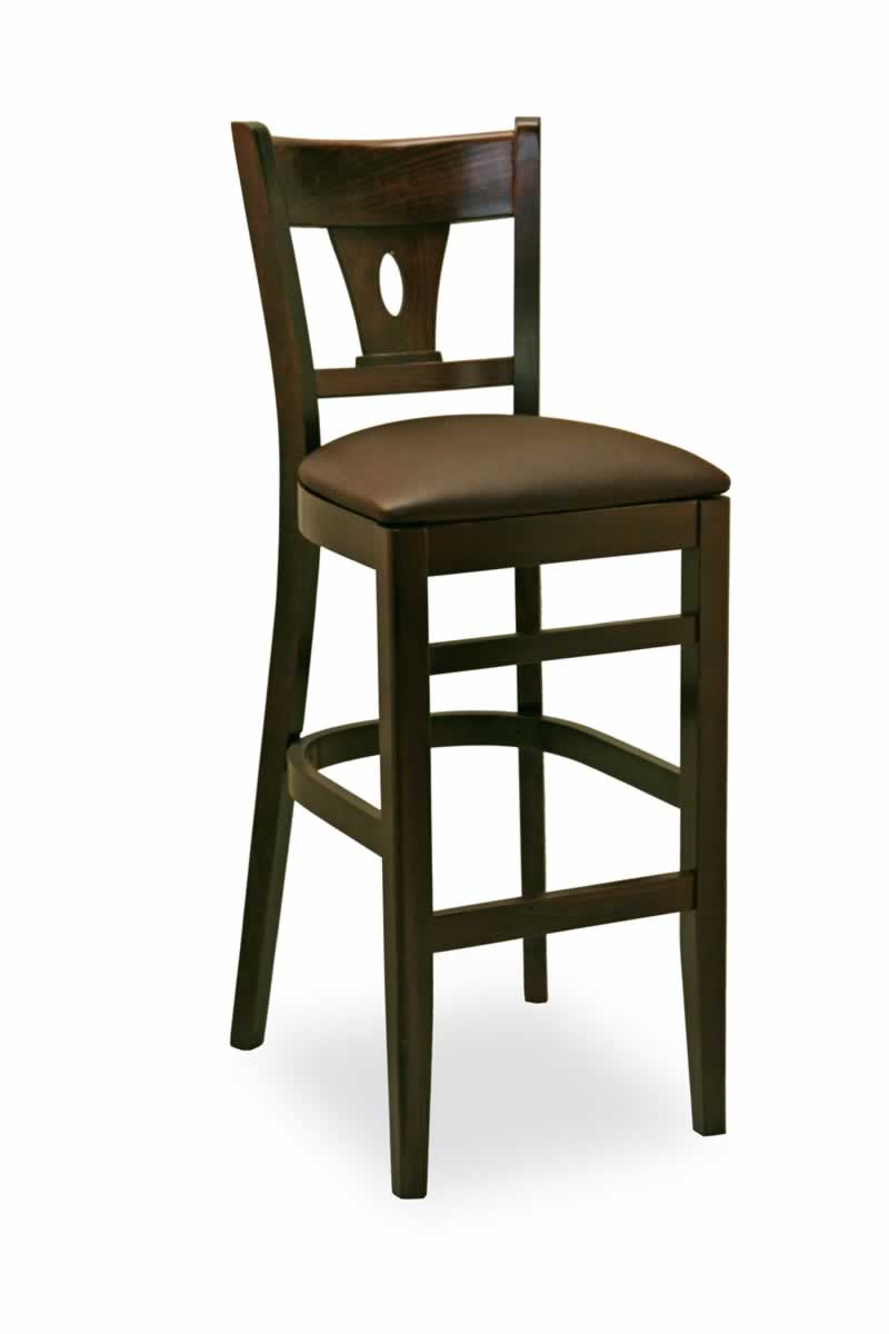 contemporary carved back bar stool sc09b commercial