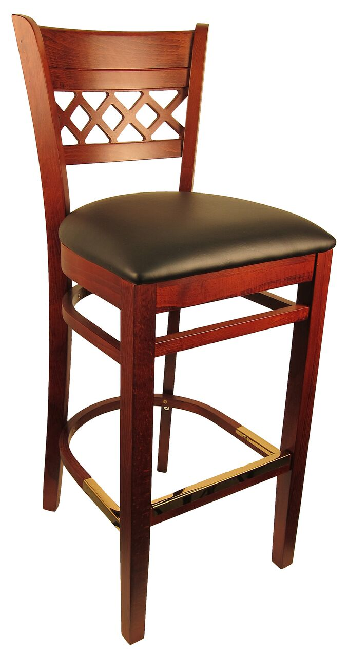 Leonardo Beech Wood Bar Stool H8230b Commercial Restaurant
