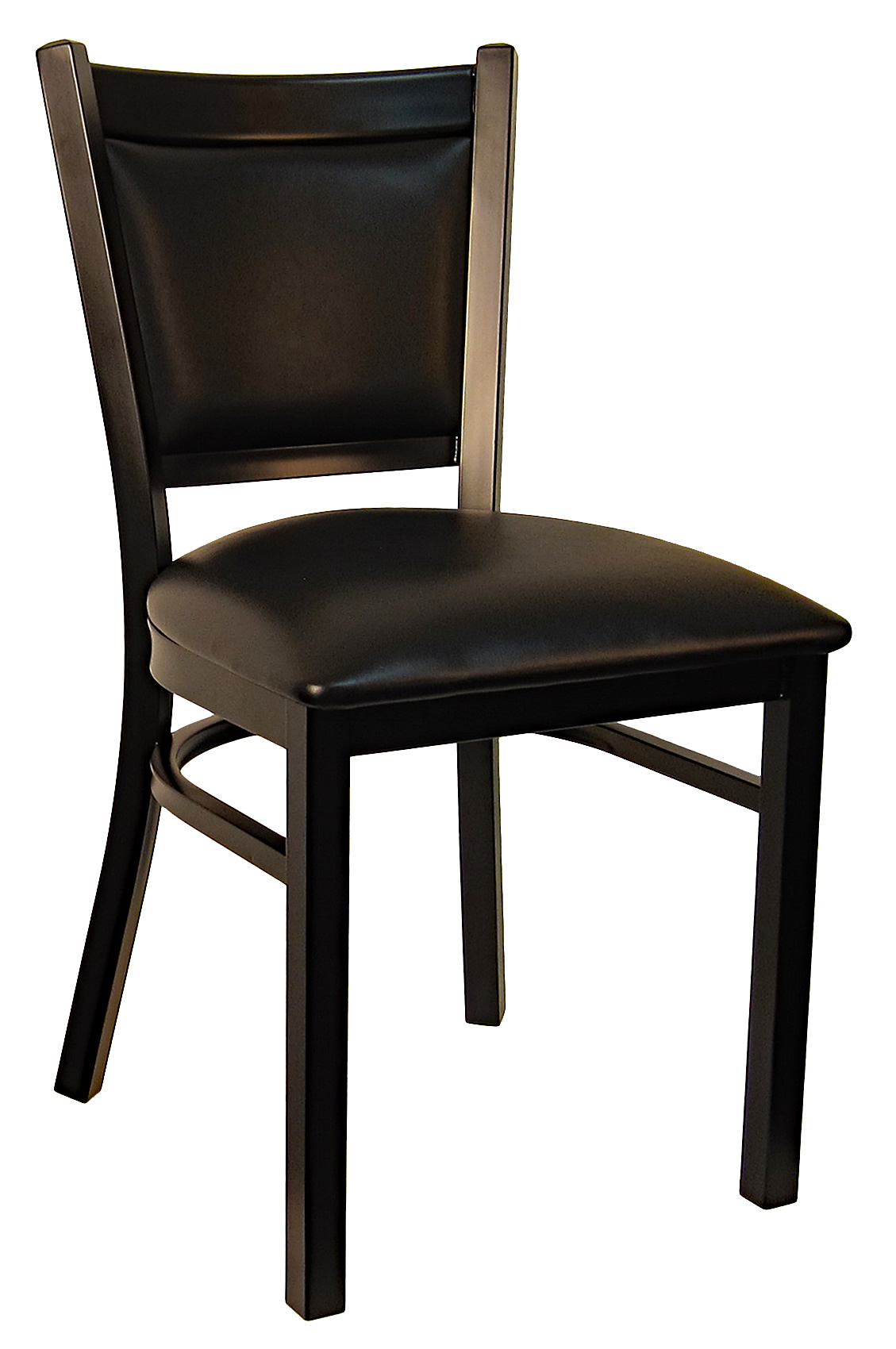 Terrific Padded Back Metal Frame Bar Stool Squirreltailoven Fun Painted Chair Ideas Images Squirreltailovenorg
