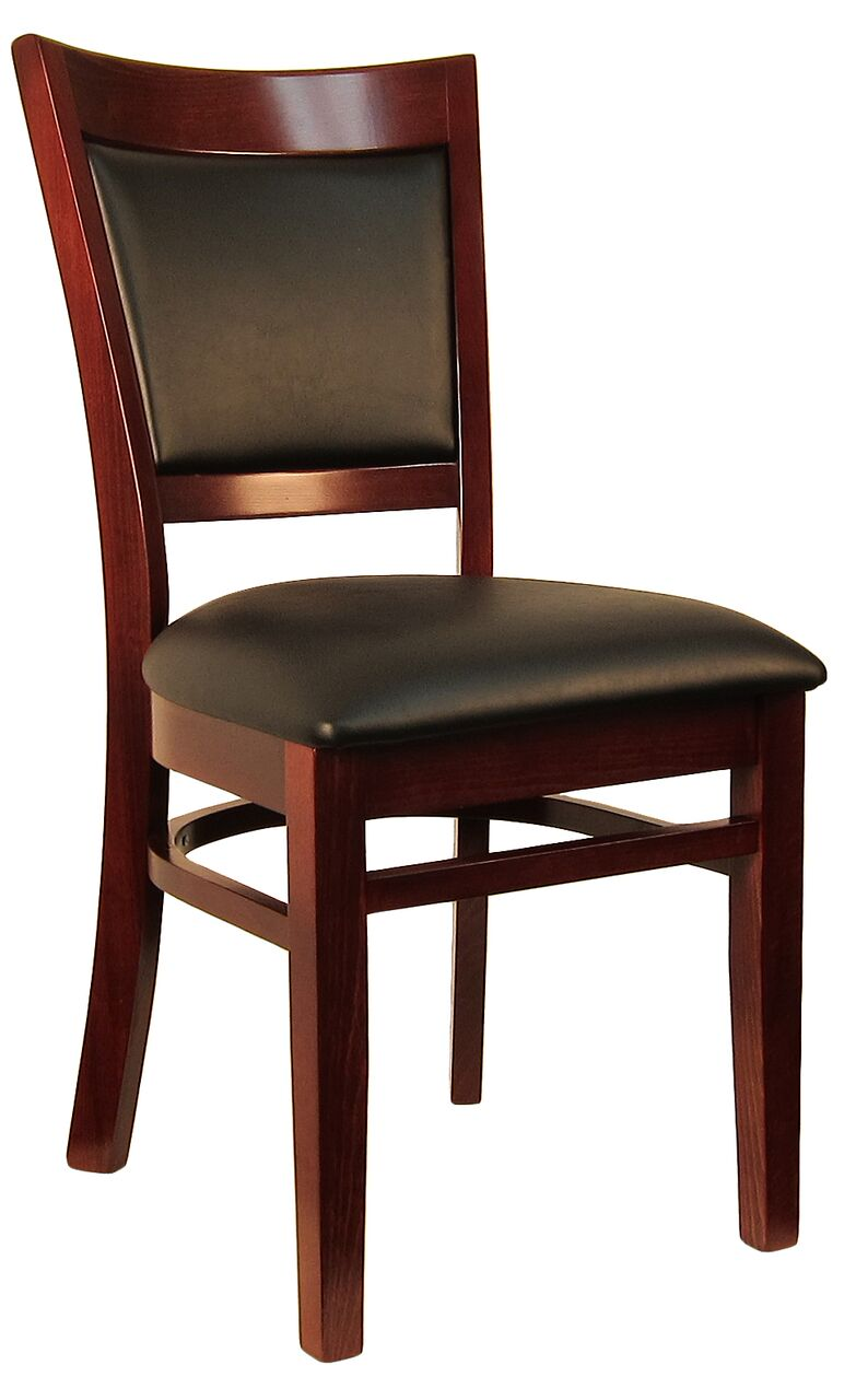 Sloan Padded Back Wood Chair H8279c Commercial Restaurant Furniture Chairs