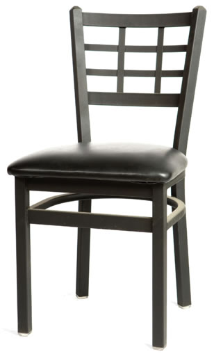 Window Pane Chair OSLC Commercial Restaurant Furniture Chairs - Restaurant table and chair dimensions