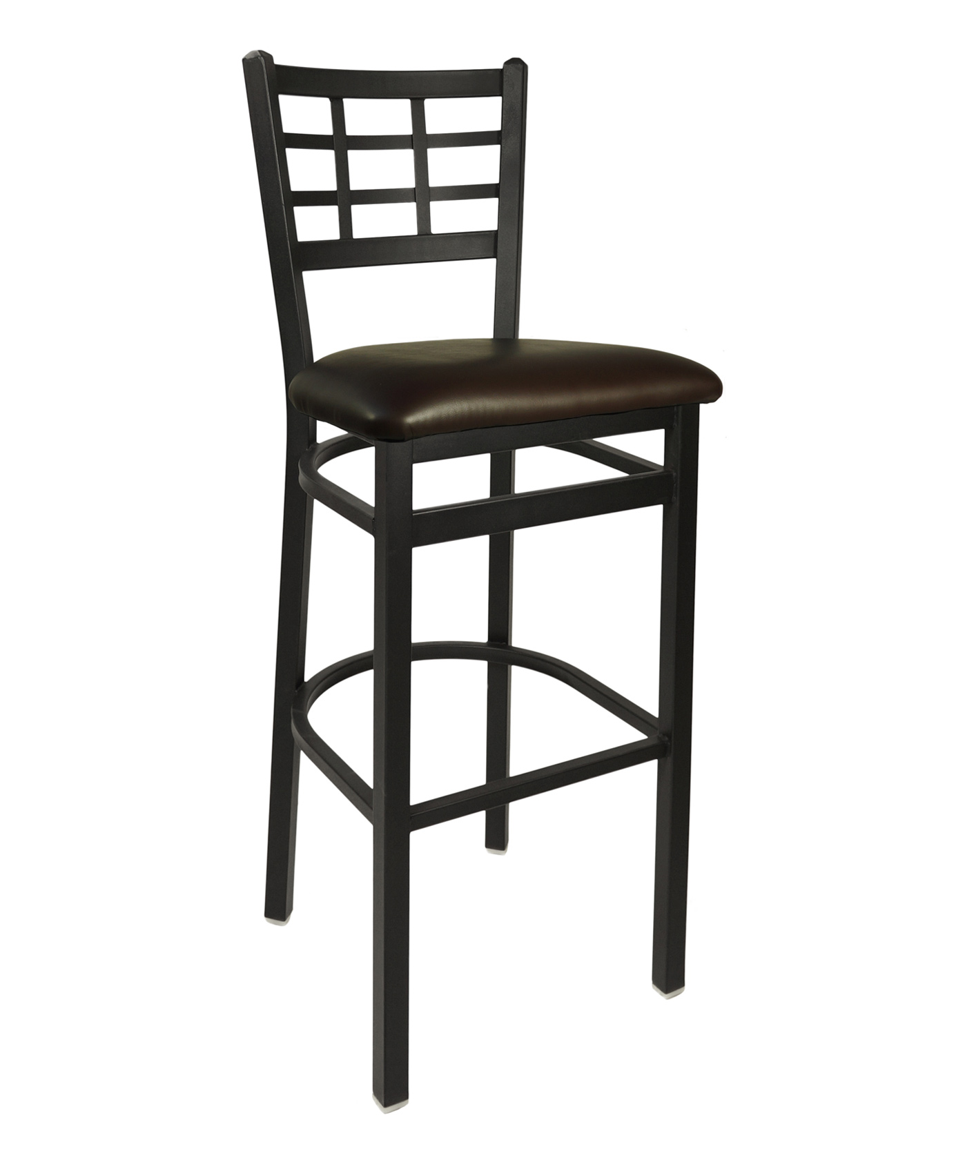 Window Pane Metal Frame Bar Stool F2163B commercial restaurant ...