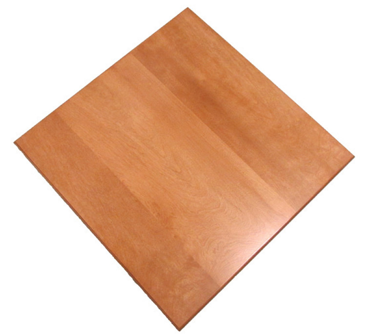E Wood Premium Square Table Top Osepo Commercial