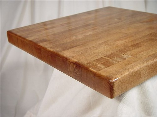 oak butcherblock solid wood round premium table top osbpor