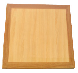 Resin NaturalOak Square Table Top AARNOS Commercial Restaurant - Restaurant resin table tops